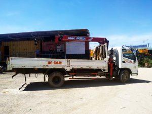 cho thuê xe cẩu tự hành 3,5 tấn