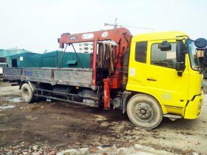 cho thuê xe cẩu tự hành 6,5 tấn
