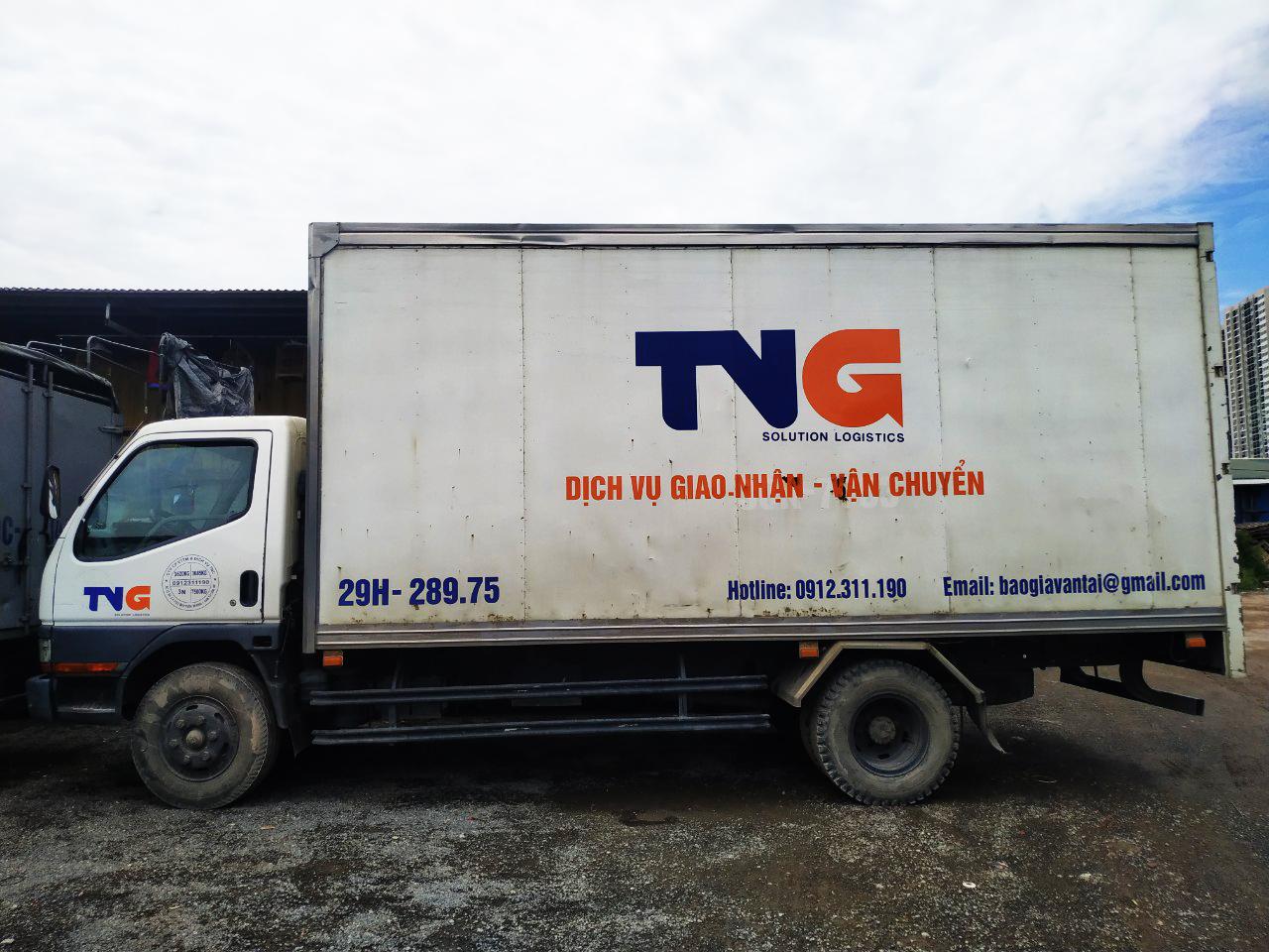 cho thuê xe tải thùng kín 3,5 tấn