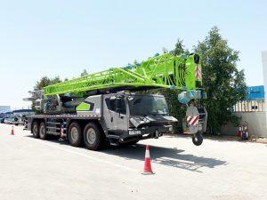 cho thuê xe cẩu chuyên dụng 110 tấn